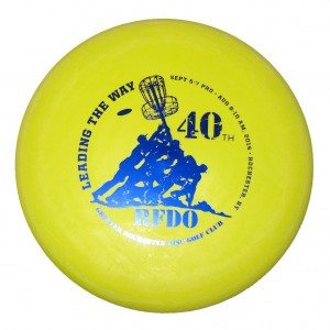 Gateway Magic Putter Disc Golf Disc RFDO 40th