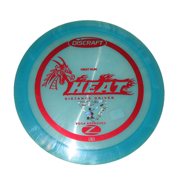 Discraft Z Heat 1st Run
