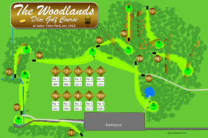 Gates Woodlands Course Map