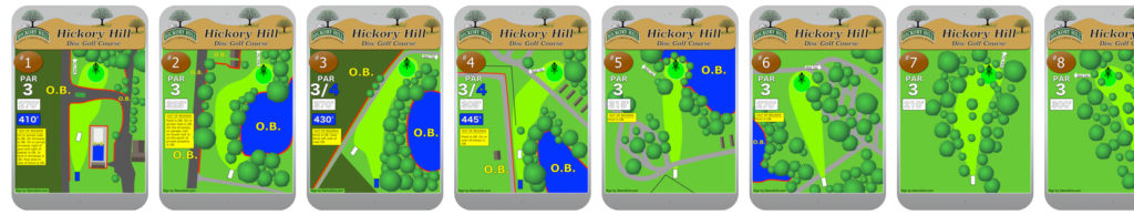 Hickory Hill Tee Signs