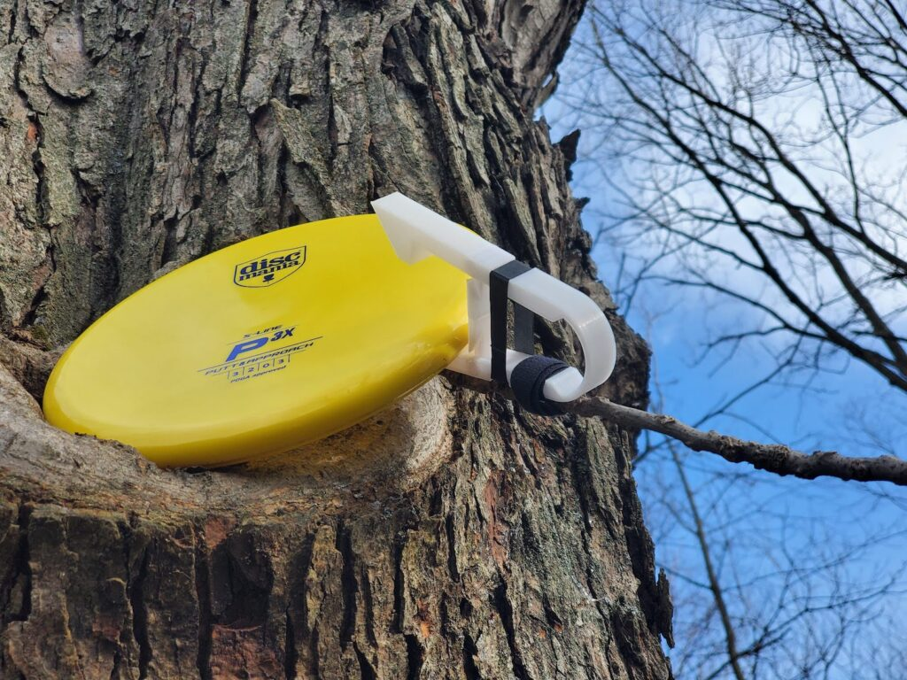 Disc Grabber from tree