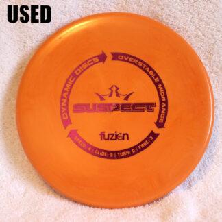 Dynamic Discs Fusion Suspect Midrange Disc Golf Disc