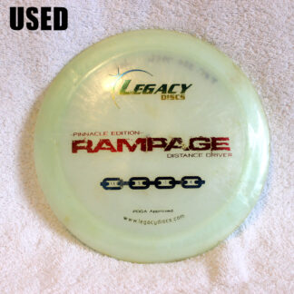Legacy Pinnacle Rampage Distance Driver Disc Golf Disc